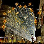 Malaga Calle Larios Christmas