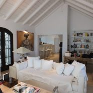 Andalusian Cortijo style villa in country living Casares_livingroom_Realista Quality Properties Marbella