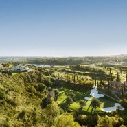 Hoyo 19 Los Flamingos Golf Resort_2 bedroom apartment_View over the golf valley_Realista Quality Properties Marbella
