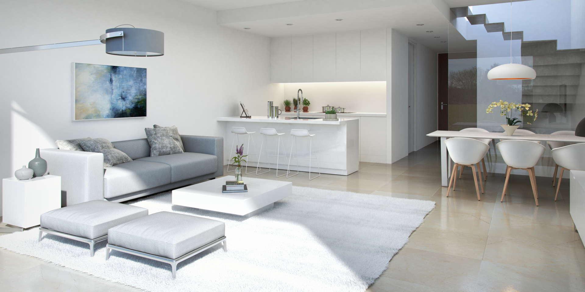 منزل تاون هاوس جديد في لا كالا دي ميجاس مكون من 3 أو 4 غرف نوم