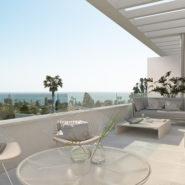 Belaire New modern project Estepona_covererd terrace_Realista Quality Properties Marbella