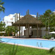 Atalaya Hills modern new build apartments Benahavis_swimmingpool_Realista Quality Properties Marbella
