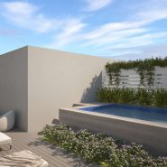 La Finca Town house for sale_Roof terrace private swimmimg pool_Realista Quality Properties Marbella