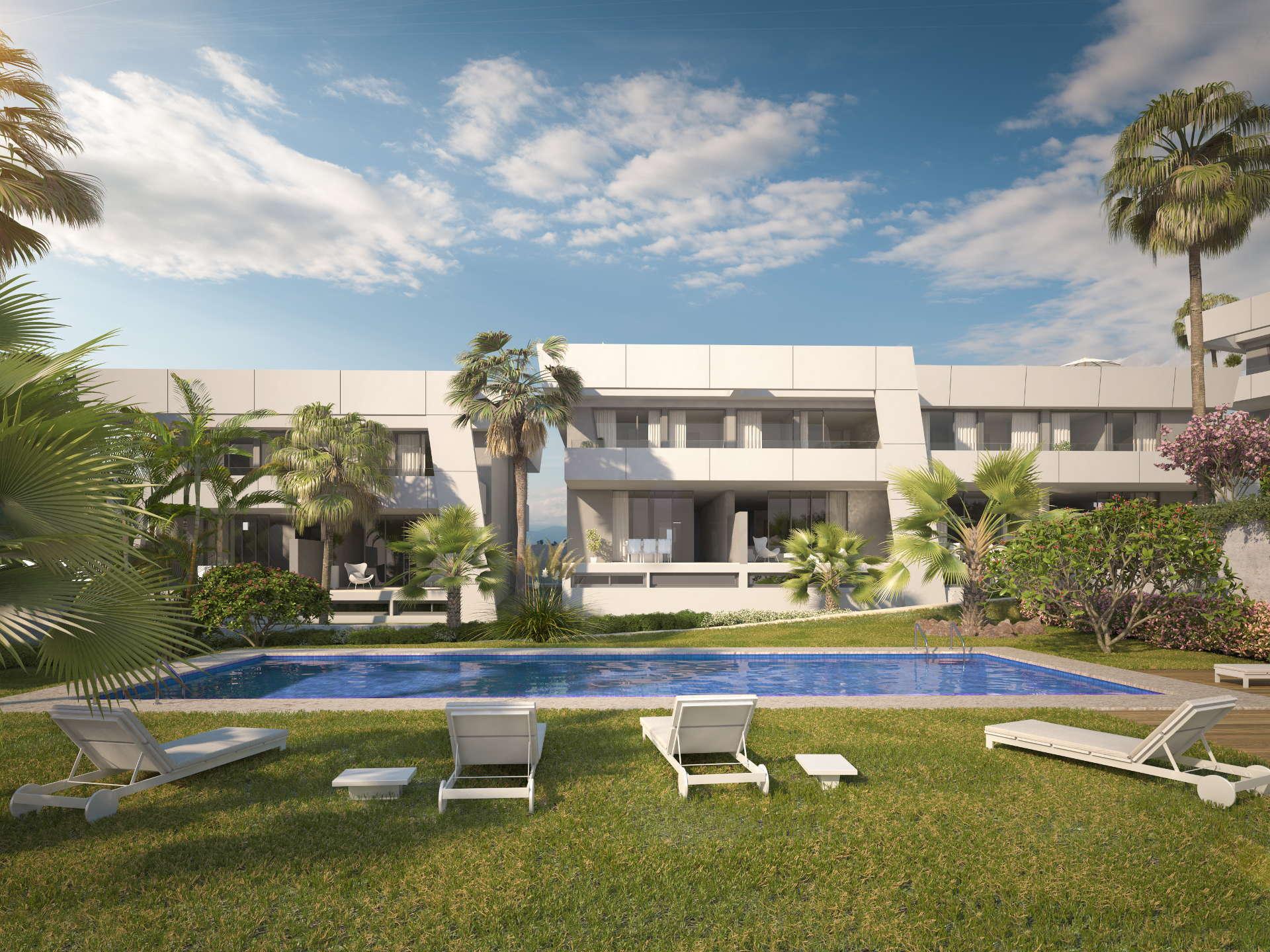 La finca de marbella luxury townhouse for sale rio real for Administrador de fincas marbella