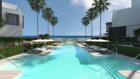 The Island Estepona_swimming pool view_ Realista Quality Properties Marbella