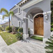 Villa El Capitan Benahavis_entrance_Realista Quality Properties Marbella