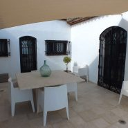 Andalusian Cortijo style villa in country living Casares_Patio_Realista Quality Properties Marbella