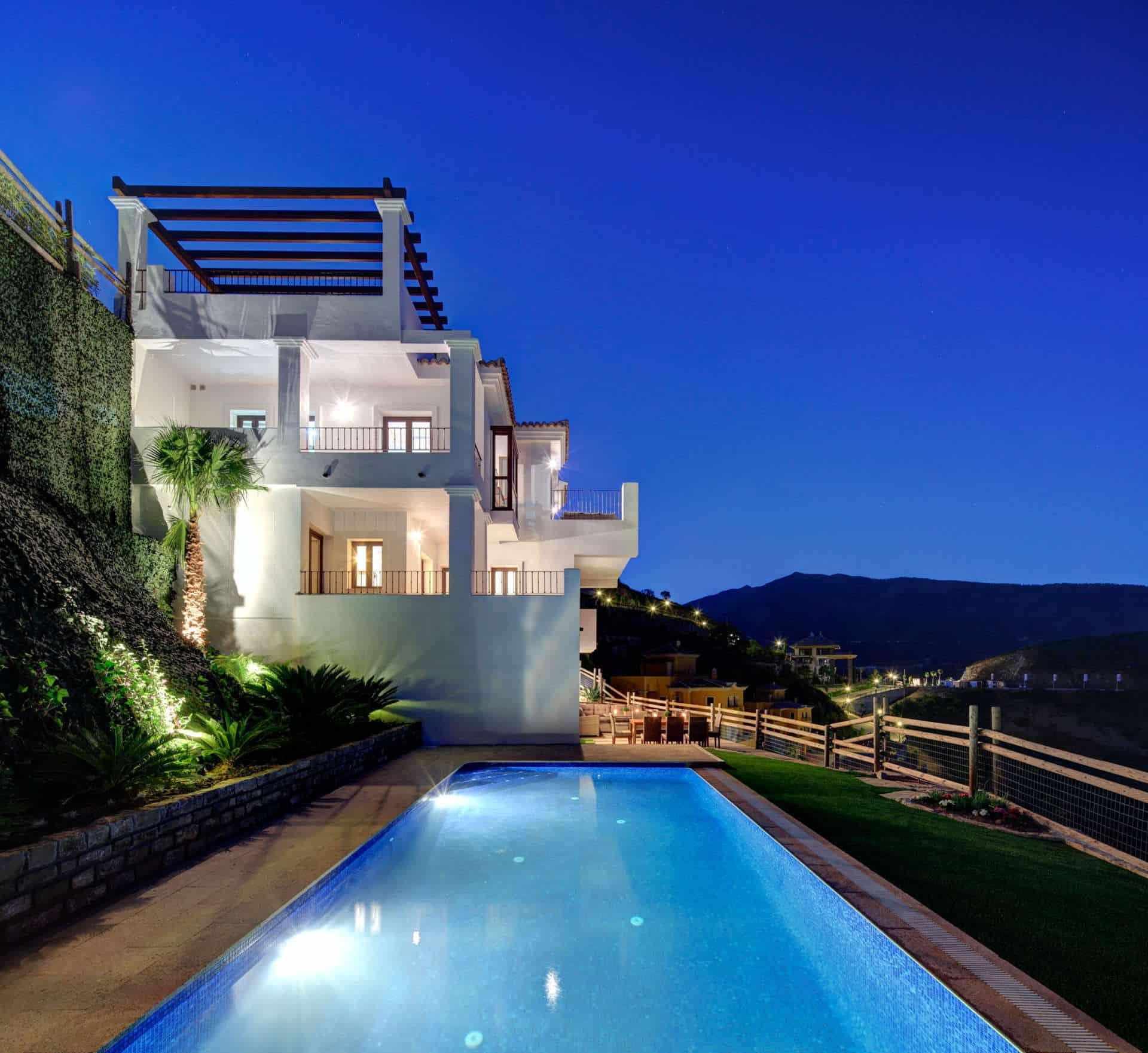 Benahavis hills country club villas in an exclusive - Marbella club villas ...