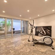 Contemporary 6 bedroom front line golf villa Los Naranjos Golf_Gym_Realista Quality Properties Marbella