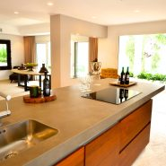 Contemporary 6 bedroom front line golf villa Los Naranjos Golf_Kitchen_Realista Quality Properties Marbella