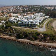 Doncell Beach Estepona_5 bedroom duplex penthouse_bird view_Realista Quality Properties Marbella