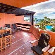 Mar Azul Estepona Beach front penthouse_Terrace _Realista Quality Properties Marbella