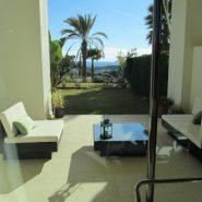 Mirador del Paraiso Apartement Estepona_Ground floor terrace_Realista Quality Properties Marbella