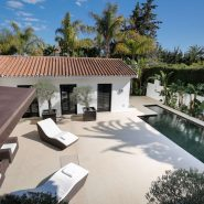 Modern villa for sale Los Monteros Playa_villa bird view I_Realista Quality Properties Marbella