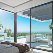 The Residences_new development Cancelada Estepona_Master bedroom_Realista Quality Properties Marbella