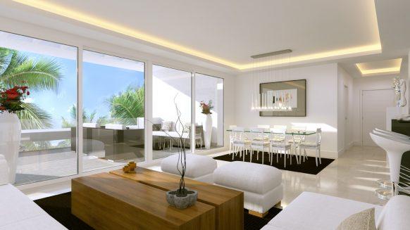 Atalaya Hills nieuw, modern appartement te koop in Benahavis Marbella