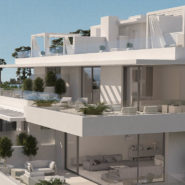 Cataleya off plan apartments for sale Estepona_Side view building_Realista Quality Properties Marbella