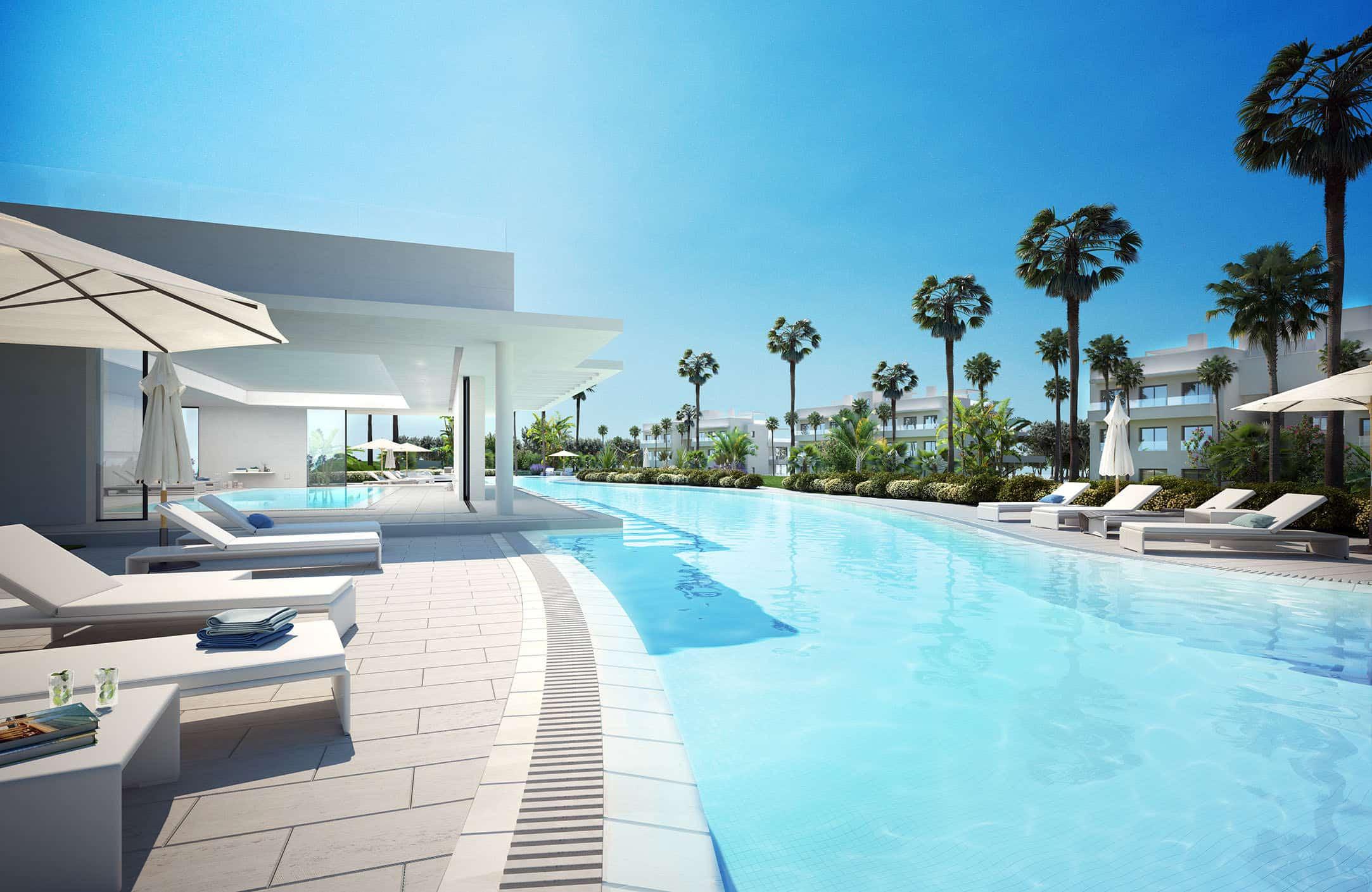Cataleya fase 3 nieuwbouw modern appartement te koop in atalaya estepona realista - Modern appartement modern appartement ...