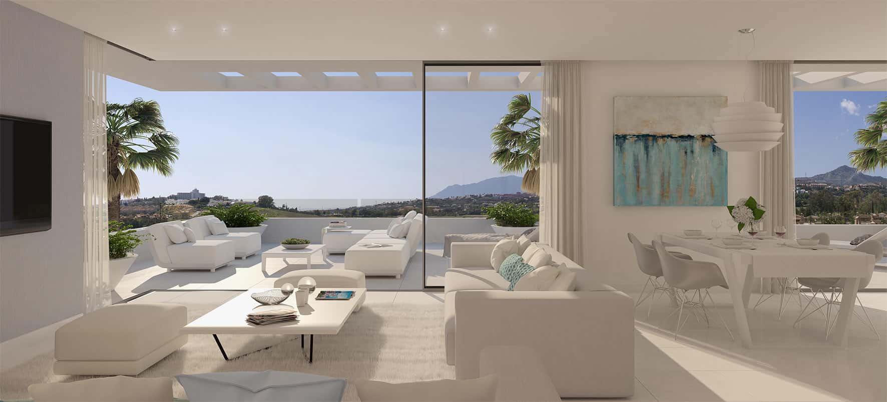 Cataleya estepona appartement te koop realista - Arredamento per esterno terrazzo ...