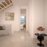 La Finca Town house for sale_hall way_Realista Quality Properties Marbella