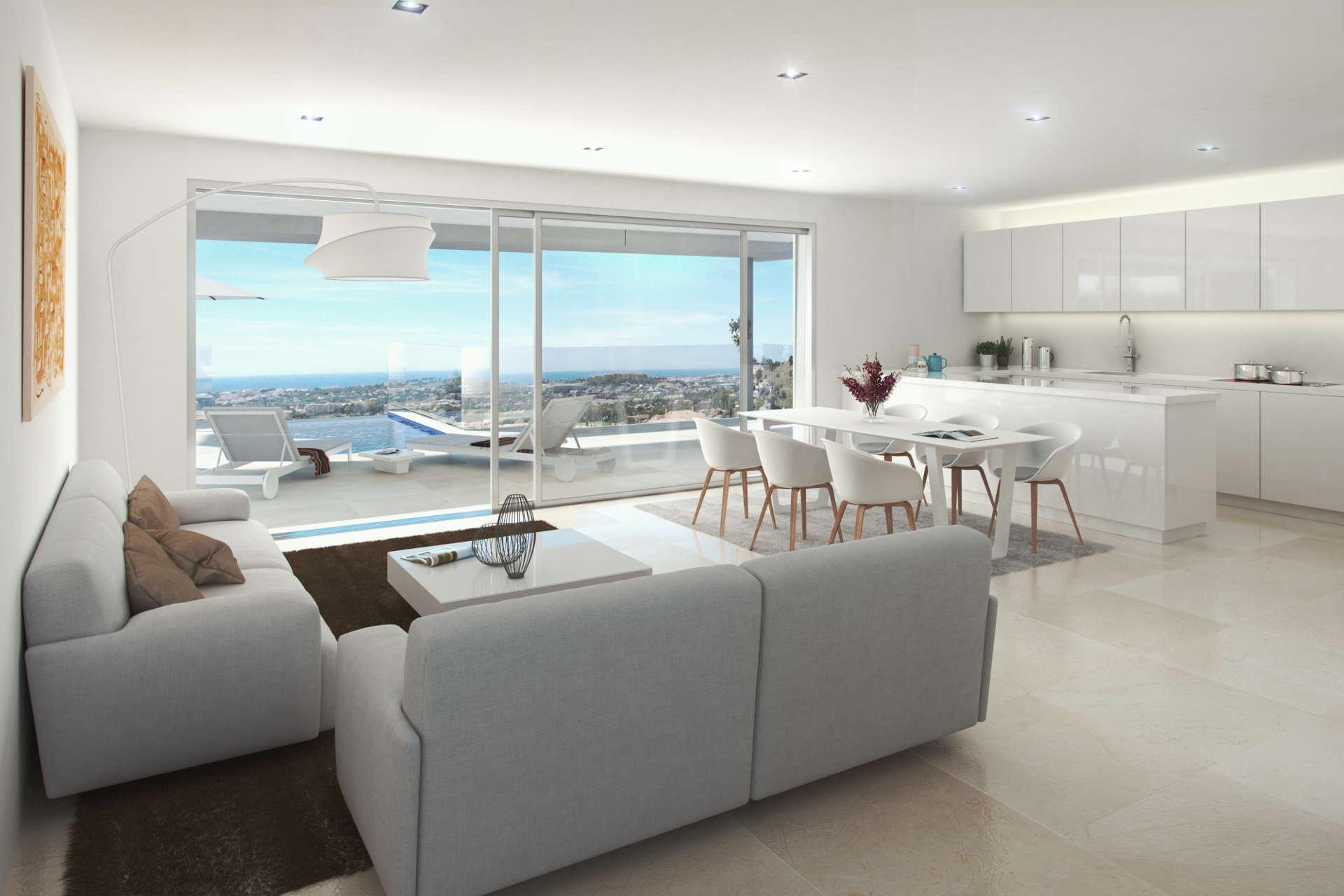 La Morelia de Marbella appartement met privé zwembad