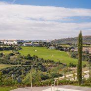 Las Terrazas de Cortesin_ Swimming pool and golf view_Realista Quality Properties Marbella