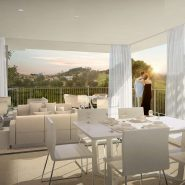 Lotus Jardinana_Cala de Mijas_Corner apartment terrace_Realista Quality Properties Marbella
