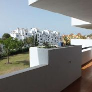 3 bedroom apartment Estepona New Golden Mile for sale Selwo_ View from terrace_Realista Quality Properties Marbella