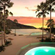 Alcazaba Lagoon_The blue lagoon at night_Realista Quality Properties Marbella