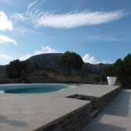 Andalusian Cortijo style villa in country living Casares_swimming pool_Realista Quality Properties Marbella