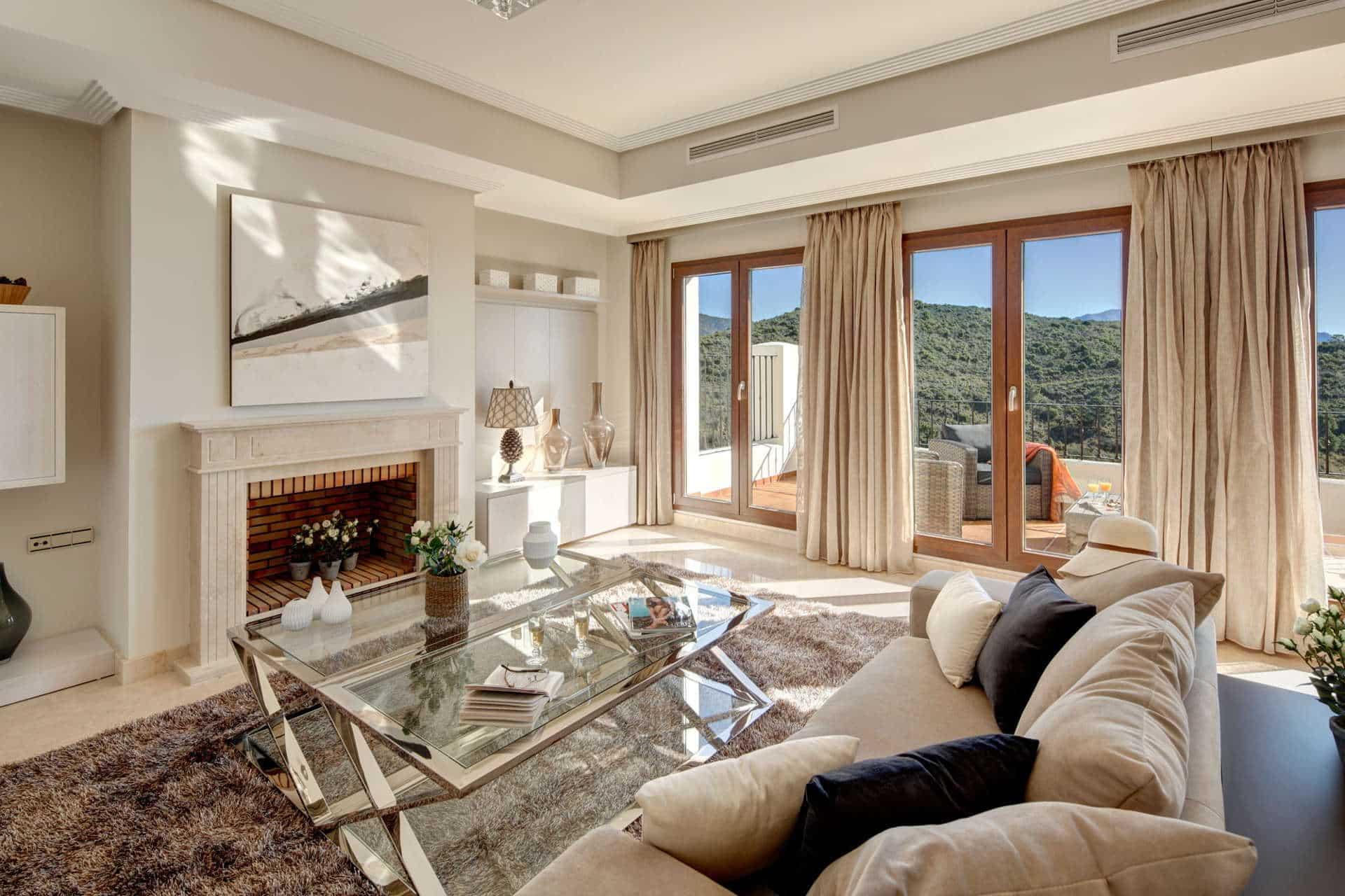 Exclusieve villa's privé landgoed Benahavis