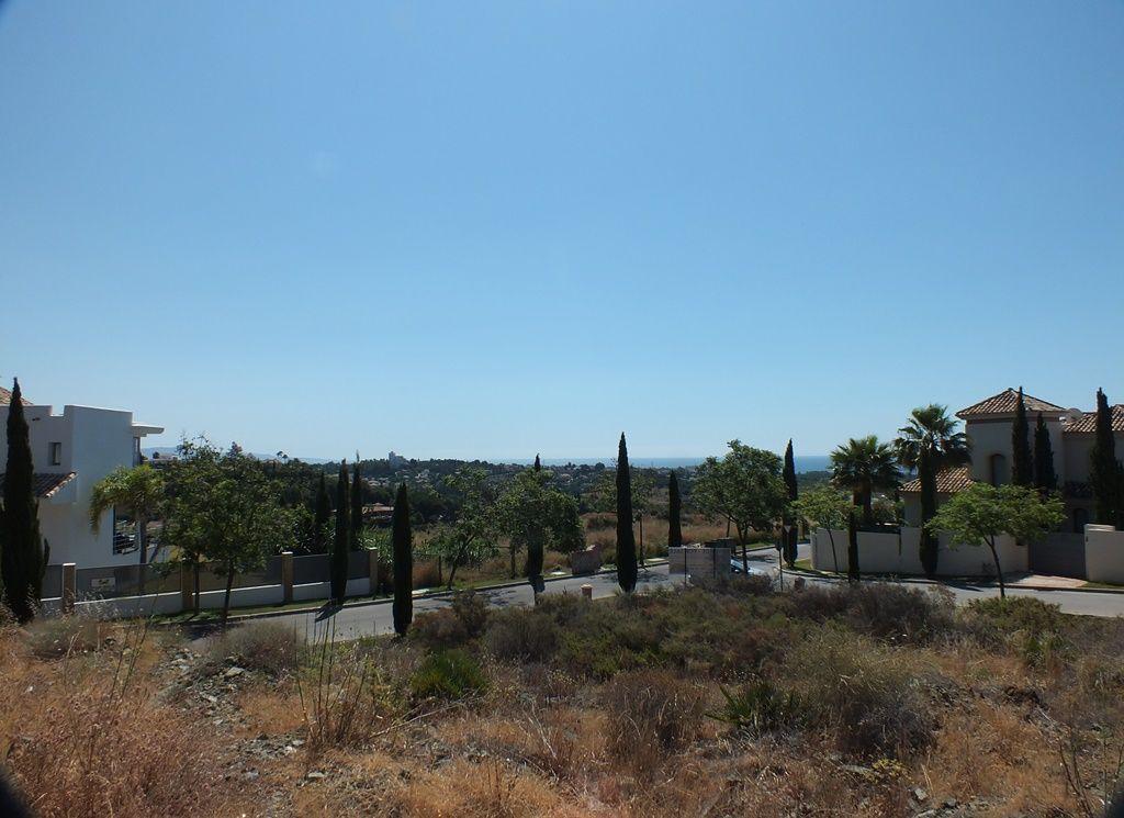 Corner building plot with sea views Los Flamingos Golf Resort Benahavis