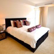 Contemporary 6 bedroom front line golf villa Los Naranjos Golf_Guest bedroom VIII_Realista Quality Properties Marbella