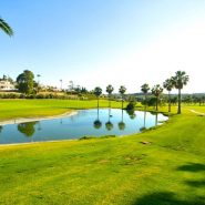 Contemporary 6 bedroom front line golf villa Los Naranjos Golf_View to the lake_Realista Quality Properties Marbe