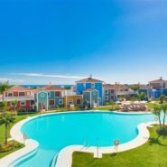 Cortijo del Mar Estepona_ ground floor 2 bedroom apartment_ Bird view_Realista Quality Properties Marbella