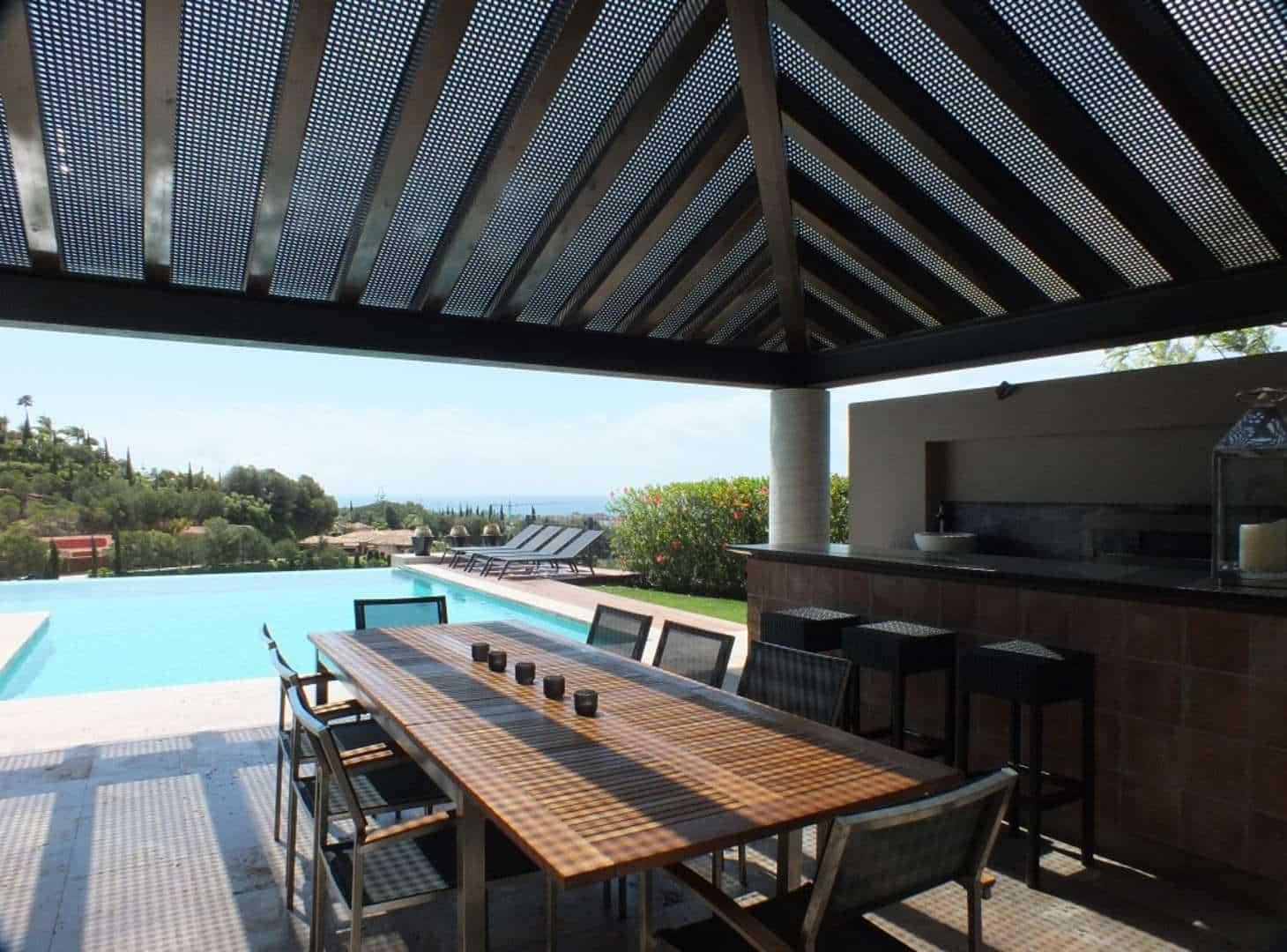 Villa te koop direct aan de golfbaan van Los Flamingos Golf Resort Benahavis