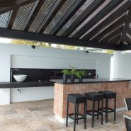 For Sale Modern 5 bedroom Villa Los Flamingos Golf Resort_BBQ enetrtainment area XI_Realista Quality Properties Marbella