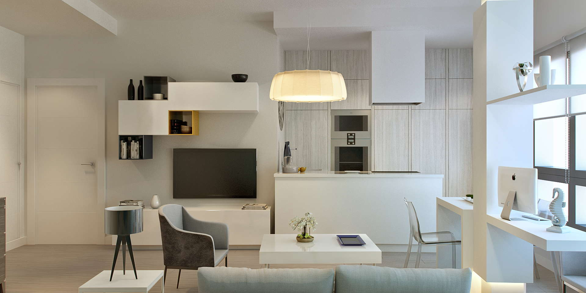 Modern Malaga city centre apartment for sale