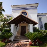 Villa La Alqueria_entrance_Realista Quality Properties Marbella