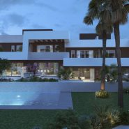 La Valvega_evening view_Realista Quality Properties Marbella
