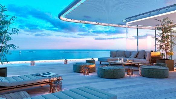 The Edge Estepona_Eerstelijns zee nieuwbouwproject_penthouse terrace_Realista Quality Properties Marbella