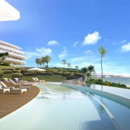 The Edge Estepona_Eerstelijns zee nieuwbouwproject_swimming pool _Realista Quality Properties Marbella