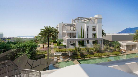 nieuw penthouse te koop EsteponaLos Flamingos Golf benahavis_realista Quality Properties marbella
