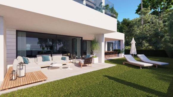 Begane grond appartement te koop in Aqualina Residences Benahavis