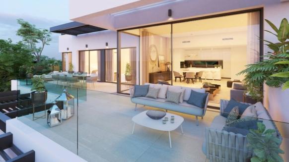 Nieuw 3 slaapkamer appartement te koop in Aqualina Collection Benahavis