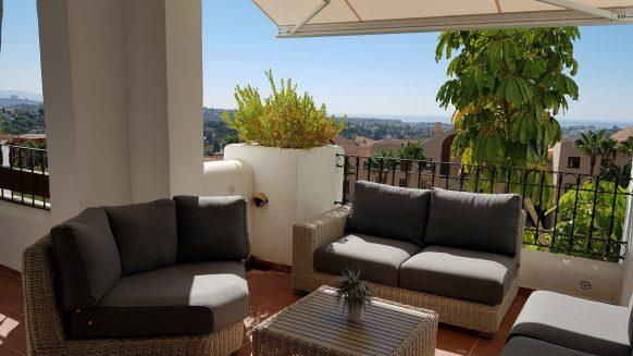 Appartement met zeezicht 2 slaapkamers Lomas del Marques benahavis_Realista Quality Properties Marbella