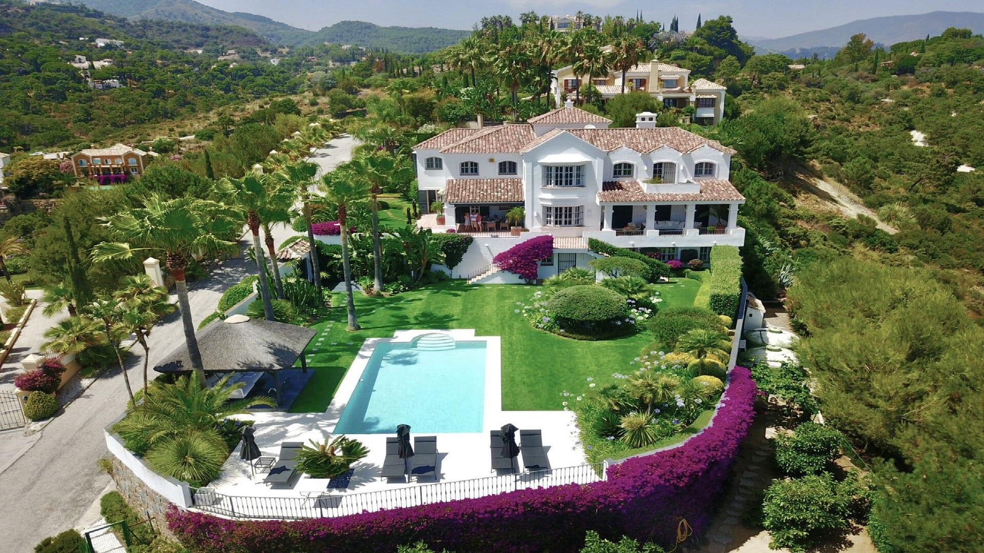 Klassieke stijl Villa in El Madroñal Benahavis