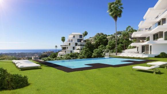 Luxe BYU Hills Penthouse in een nieuwe boetiekontwikkeling in Benahavis