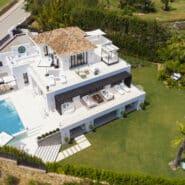 Villa Los Naranjos Golf Nueva Andalucia, Marbella Mimosa by Solvilla_Villa for sale with Golf and Sea views_Realista Quality Real Estate Marbella
