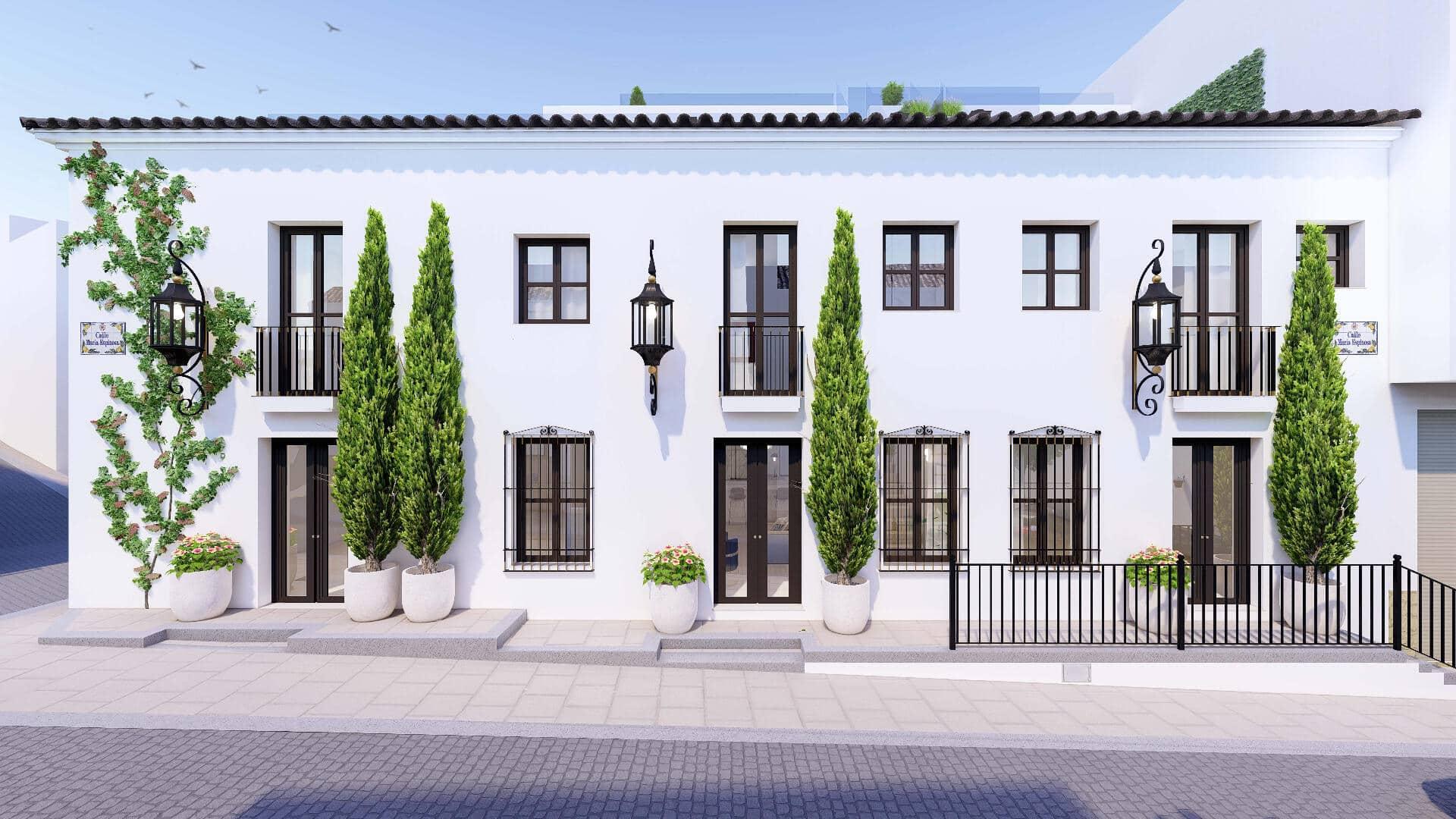 Nieuwe woning in het stadscentrum van Estepona